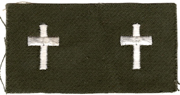 1960's US Army Chaplains Officer Collar Patch
