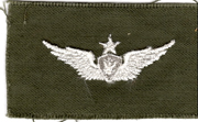 1960's US Army Senior Aircrew Qualification Patch