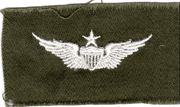1960's US Army Senior Pilot Wings Patch
