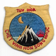 South Vietnamese Tuy Hoa PRU / Provisional Recon Unit Patch
