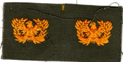 1960's US Army Warrant Officer Collar Rank Patch
