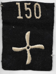 WWI 150th Aero Squadron Enlisted Patch