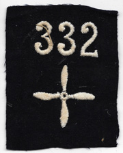 WWI 332nd Aero Squadron Enlisted Patch