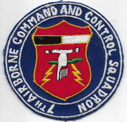 Vietnam US Air Force 7th Airborne Command And Control Squadron Patch