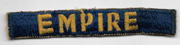 1950's 27th Armored Division EMPIRE Japanese Made Tab