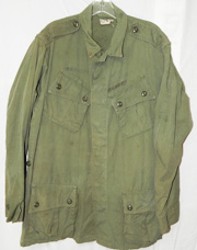 Vietnam 1st pattern Marine Corps Exposed Button Jungle Shirt