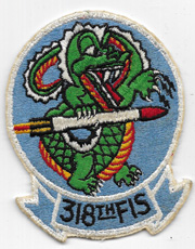 1950's-60's US Air Force 49th Fighter Interceptor Squadron Patch