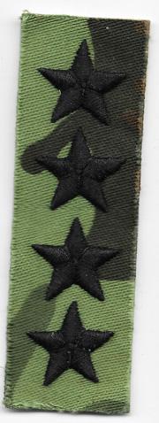 ARVN / South Vietnamese Army Ranger Four Star General Rank