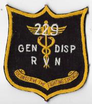 Vietnam 229th Medical General Dispensary Pocket Patch
