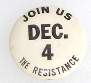 Vietnam Join The Resistance Dec 4th Anti-War Pin