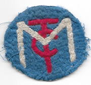 WWI Motor Transport Corps Patch