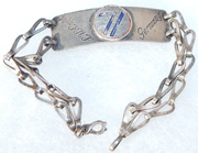 WWII - Occupation 14th Infantry 71st Division Germany Bracelet