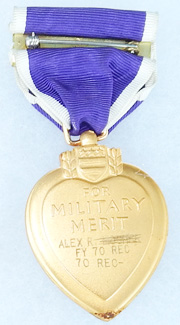 Vietnam KIA C Company 1st Battalion 18th Infantry 1st Division Named Purple Heart