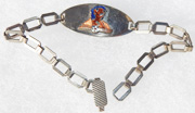 WWII AAF 6th Bomb Group Sweetheart Bracelet