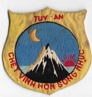 Vietnam Tuy-An PRU / Provisional Recon Unit Patch