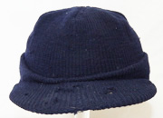 WWII Army Air Forces WASP / Womens Air Service Pilots Identified Blue Knit Jeep Cap
