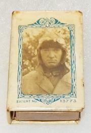 WWI Allied Pilot Celluloid Matchsafe
