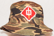 Vietnam 18th Engineer Brigade Camo Boonie