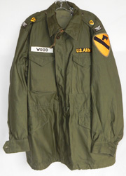 1950's 1st Cavalry Division Officers M-51 Field Jacket