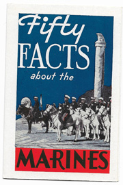 1937 Fifty Facts About The Marines Recruiting Pamphlet