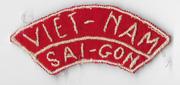 Vietnam Era Saigon Viet-Nam Tab
