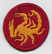 WWII 22nd Ghost / Phantom Division Patch