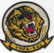 Vietnam Martha Raye's US Marine Corps  VMFA-542 Squadron Patch