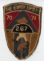 Vietnam 267th Signal Company GYPSY TIPSY II Field Force Vietnam Pocket Patch