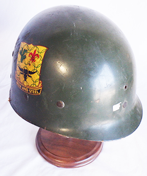 49th Infantry Division 149th Armored Regiment Parade WWII Era Helmet Liner