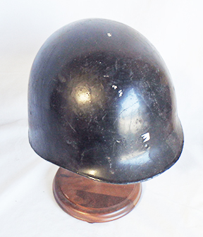 Vietnam Era M1 Helmet Liner Painted Black