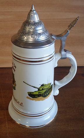 3rd Cavalry  Medic Beer Stein Nude Lithophane