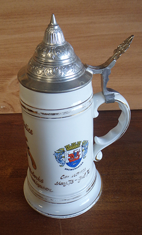 15th Military Police Brigade Beer Stein Nude Lithophane