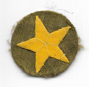 WWII Japanese Army Enlisted Field Cap Star