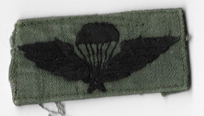 ARVN / South Vietnamese Army Pattern Basic Airborne Wing