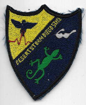 US Navy Diego Style Operation Desert Storm Cruise Patch