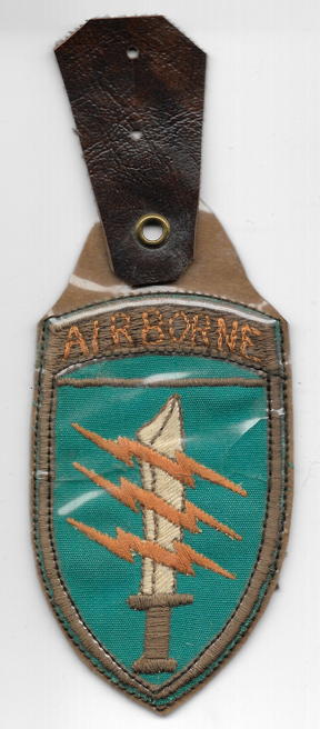 Vietnam 5th Mike Force Command Pocket Hanger
