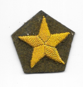 WWII Japanese Army Officers Field Cap Star
