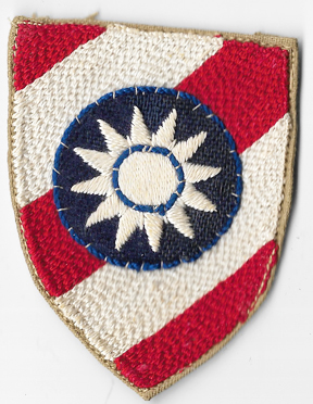 WWII China Combat Command Theatre Made Patch