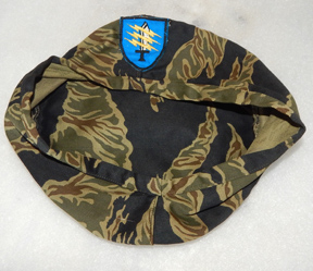 Vietnam 5th Mike Force Command Tiger Stripe Beret