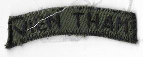 ARVN / South Vietnamese Army Ranger / BDQ Recon Tab