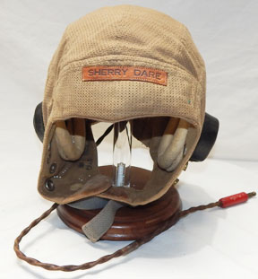 WWII 89th Fighter Squadron Burma Banshee's Fighter Pilots Named British Tropical Flight Helmet