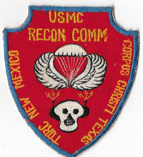 Vietnam US Marine Corps 3rd Recon Company Communications Group Patch