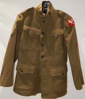 WWI Ambulance Service Enlisted Wool Coat