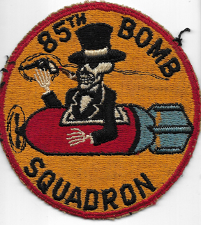 1950's-60's US Air Force 85th Bomb Squadron Patch