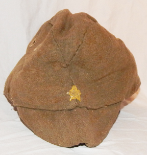 WWII Japanese Army Enlistedman's Well Used Wool Field Cap