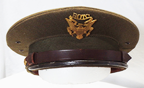 WII Or Before Army ROTC Visor Cap