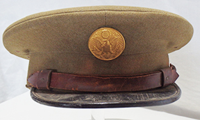 1920's Enlisted Two Tone Visor Cap