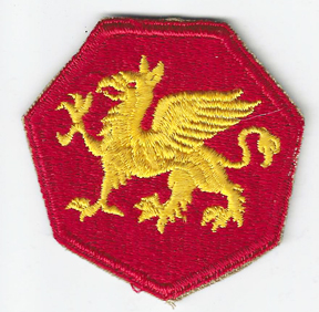 WWII 108th Airborne Division Patch