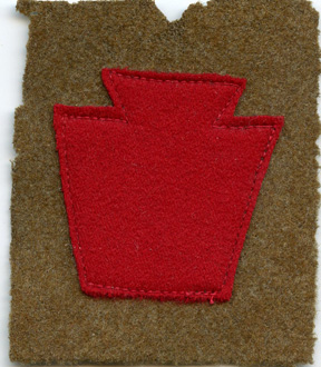 WWI 28th Division Patch
