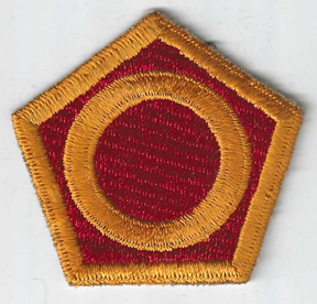 WWII 50th Ghost / Phantom Division Patch